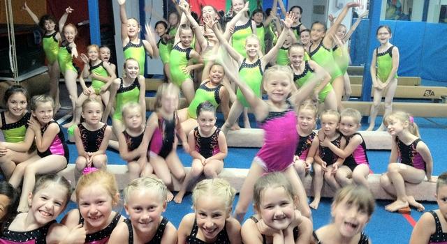 Girls Recreational Gymnastics Paradise Gymnastics